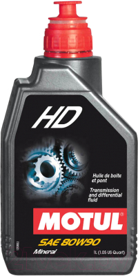 Трансмиссионное масло Motul HD 80W90 / 105781 (1л)