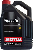 Моторное масло Motul Specific 948B 5W20 / 106352 (5л) -