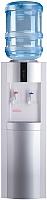 Кулер для воды Ecotronic V21-LF с холодильником (белый/серебристый) -