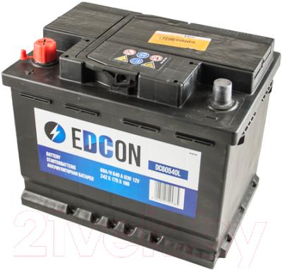 Автомобильный аккумулятор Edcon DC60540L