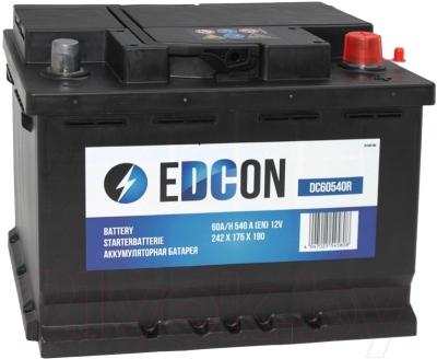 Автомобильный аккумулятор Edcon DC60540R