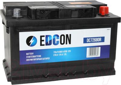 Автомобильный аккумулятор Edcon DC72680R