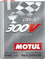 Моторное масло Motul 300V Trophy 0W40 / 104240 (2л) -