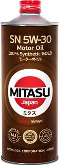 Моторное масло Mitasu Gold 5W30 / MJ-101-1