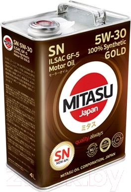 Моторное масло Mitasu Gold 5W30 / MJ-101-4
