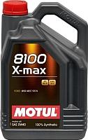 Моторное масло Motul 8100 X-max 0W40 / 104532 (4л) -