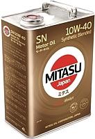 Моторное масло Mitasu Motor Oil 10W40 / MJ-122A-4 (4л) -
