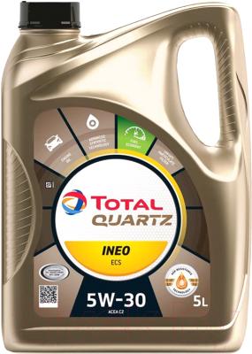 Моторное масло Total Quartz Ineo ECS 5W30 / 151261 / 213683 (5л)