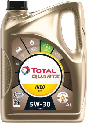 Моторное масло Total Quartz Ineo ECS 5W30 / 151510 / 213685 (4л)