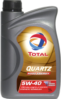 Моторное масло Total Quartz Energy 9000 5W40 / 166245 (1л) -