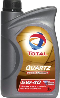 Моторное масло Total Quartz Energy 9000 5W40 166245 / 213765 (1л)