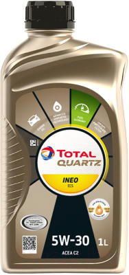 Моторное масло Total Quartz Ineo ECS 5W30 / 166252 / 213768 (1л)