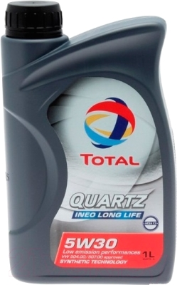 Моторное масло Total Quartz Ineo Long Life 5W30 / 181711 (1л)