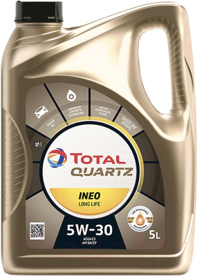 Моторное масло Total Quartz Ineo Long Life 5W30 / 181712 / 213819 (5л)
