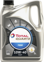Моторное масло Total Quartz 7000 10W40 / 201525 / 214109 (5л) -