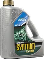 Моторное масло Petronas Syntium 3000 AV 5W40 / 18284019 (4л) -