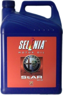 Моторное масло Selenia Star 5W40 / 11385019 (5л)