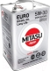Моторное масло Mitasu Motor Euro Diesel 5W30 / MJ-210-6 (6л) -