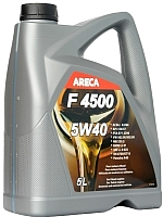 Моторное масло Areca F4500 5W40 / 11452 (5л) -