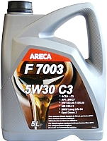 Моторное масло Areca F7003 5W30 C3 / 11132 (5л) -