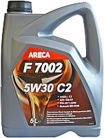 Моторное масло Areca F7002 5W30 C2 / 11122 (5л) -