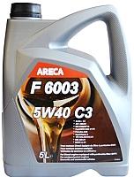 Моторное масло Areca F6003 5W40 C3 / 11162 (5л) -
