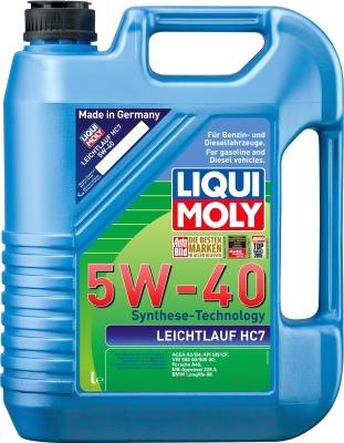 Моторное масло Liqui Moly Leichtlauf HC7 5W40 / 2309 (5л)