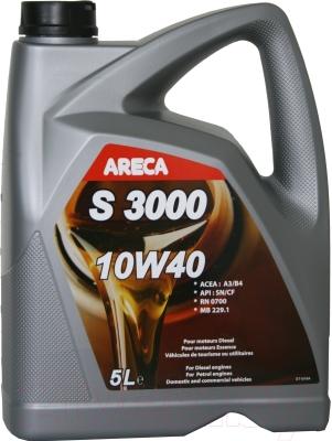 Моторное масло Areca S3000 10W40 / 12102 (5л)