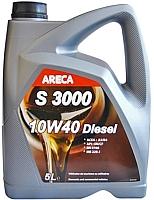 Моторное масло Areca S3000 Diesel 10W40 / 12202 (5л) -