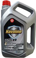 Моторное масло Texaco Havoline Ultra S 5W40 / 801339MHE (4л) -