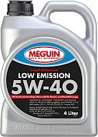 Моторное масло Meguin Megol Low Emission 5W40 / 6675 (4л) -