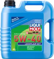Моторное масло Liqui Moly Leichtlauf HC7 5W40 / 1382 (4л) -