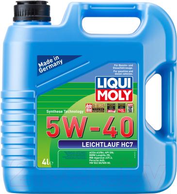 Моторное масло Liqui Moly Leichtlauf HC7 5W40 / 1382 (4л)