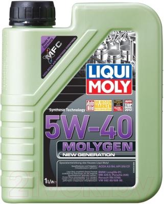 Моторное масло Liqui Moly Molygen New Generation 5W40 / 8576 (1л)