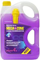 Жидкость стеклоомывающая MegaZone Magic Зима -24 / 9000006 (4л, фиолетовый) -