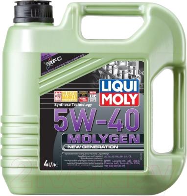 Моторное масло Liqui Moly Molygen New Generation 5W40 / 8578 (4л)