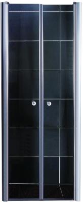 Душевая дверь Coliseum 7016 190x80 (прозрачное стекло)