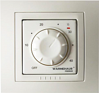 Терморегулятор для теплого пола Warmehaus Basic WH 800 (бежевый) -