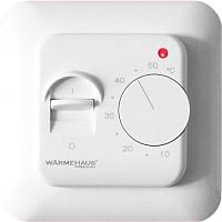 Терморегулятор для теплого пола Warmehaus WH 100 (альпийский белый) -