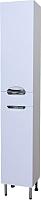 Шкаф-пенал для ванной СанитаМебель Камелия-56 Д3 (белый, левый) -