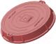 Люк канализационный Сандкор Тип Л 15кН (красный) -