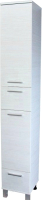 Шкаф-пенал для ванной СанитаМебель Прованс 501.300 (левый, гасиенда) -
