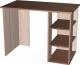 Письменный стол Мебель-Класс Имидж-1 (ясень шимо т./ясень шимо св. №2) -