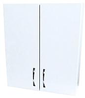 Шкаф для ванной СанитаМебель Камелия-24 Д2 (белый) -