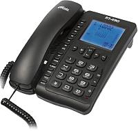 Проводной телефон Ritmix RT-490 (черный) -