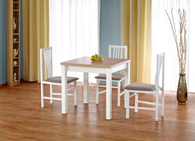 Обеденный стол Halmar Gracjan (дуб сонома/белый)