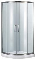 Душевой уголок Bravat Drop L 100x80 / NDB2142 -