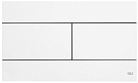 Кнопка для инсталляции Oliveira & Irmao Slim 659041 (белый) -