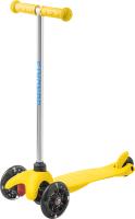 Самокат Sundays SA-100S-2 (желтый, светящиеся колеса) -