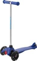 Самокат Sundays SA-100S-4 (синий, светящиеся колеса) -